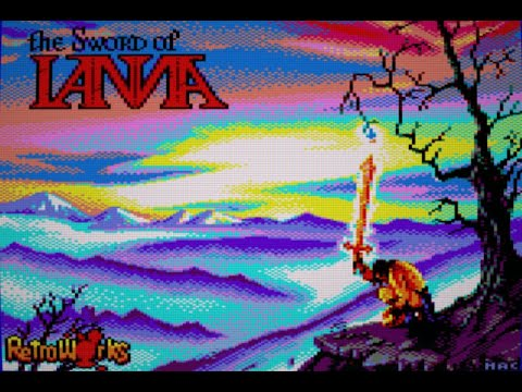 RETROJuegos Homebrew - The Sword of Ianna © 2020  Retroworks para el Amstrad CPC #RETROJuegos byFabio