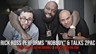 Rick Ross Performs Nobody & Talks 2PAC | #LIFTOFF