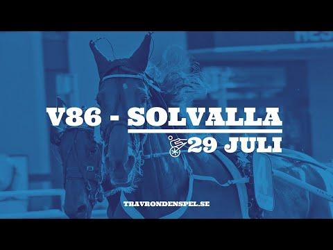 V86 Tips - Solvalla - 29 juli 2020