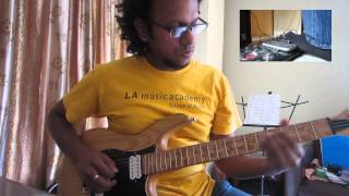 Ashique M. Fahim - Looper Jam # 3: Live Looping Multiple Parts (Slap & Horn Guitar)