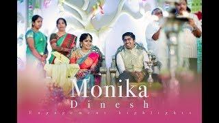 Monika & Dinesh Engagement Highlights { Siraj Khan Photography }