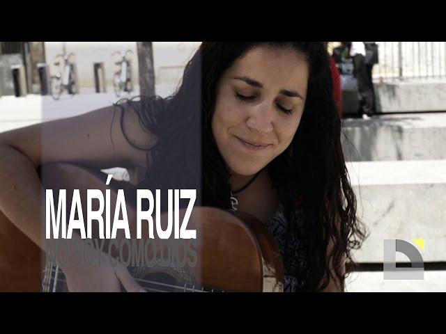 Vídeo de Maria Ruiz en acústico