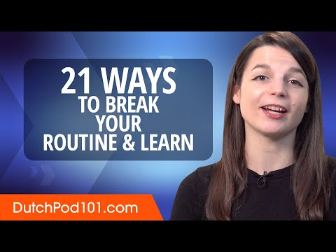 21 Ways to Break Your Routine & Learn Dutch photo