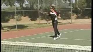 Beginner Tennis : Beginner Tennis: Hand Feed Forehand & Backhand