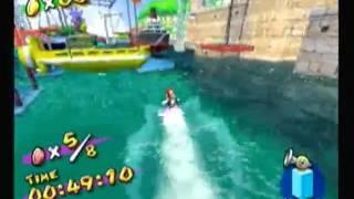 Super Mario Sunshine - Blooper Surfing Death Montage