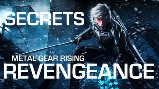 Metal Gear Rising: Revengeance Secrets, Hidden Items & Fun Stuff