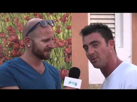 Lucky Life TV interviews DJ Morgan at Shardana during his 2011 Ibiza Tour