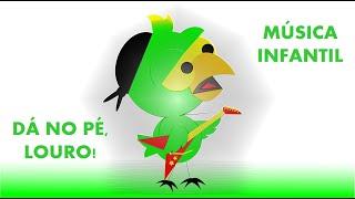 Papagaio Cantando  - Animais Selvagens - animação - música infantil - parrot singing