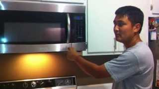 Samsung Microwave Door Latch Spring Repair - when your door won't latch closed