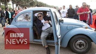 World's 'poorest president' Uruguay's Jose Mujica & his $1m VW width=