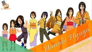 Naruto characters: Hanabi Hyuga's Evolution