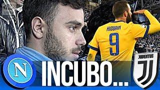 NAPOLI 0-1 JUVENTUS | INCUBO HIGUAIN! LIVE REACTION GOL CURVA B HD