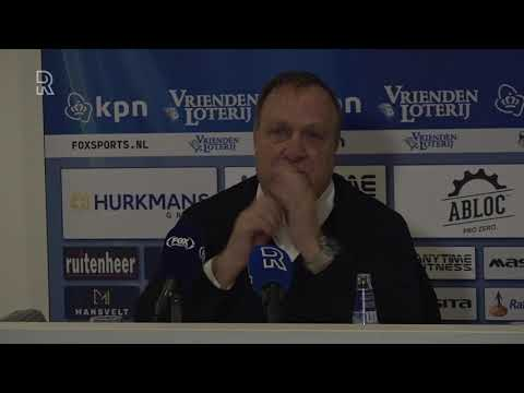 Feyenoord-trainer Advocaat over vroege goal Fortuna: 'Kan niet gebeuren op dit niveau'