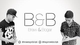 B&B - Me agarro de la mano (Video Lyrics Oficial).
