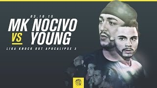 MK Nocivo vs Young - Promo Apocalipse 3 - 03/10/2015