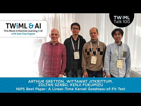 Interview - A Linear-Time Kernel Goodness-of-Fit Test - NIPS Best Paper '17