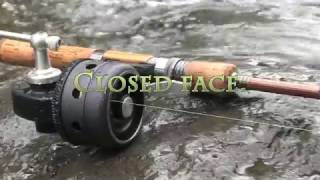UNDER SPIN REEL TU-01 by TRY-ANGLE