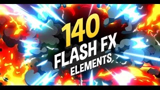 140 Flash FX Elements - After Effects | Videohive Projects
