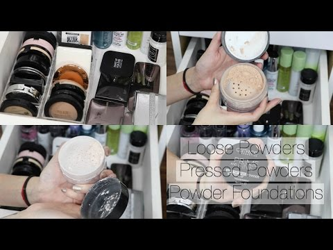 Makeup Collection + Storage | Face Powders - Drugstore + High End