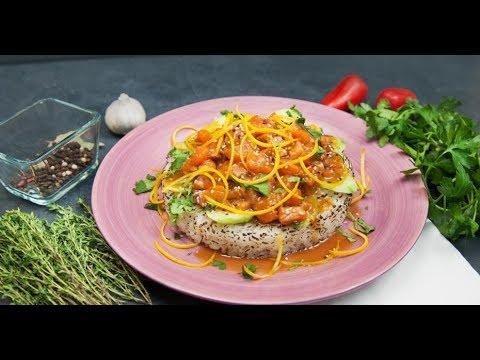Поке с обожжённой рыбой | Кухня по заявкам
