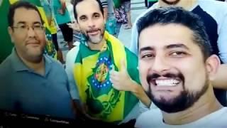 Manifestação: Monarquia no Brasil vai às ruas apoiando a condenação de LULA. Luiz Philippe foi!