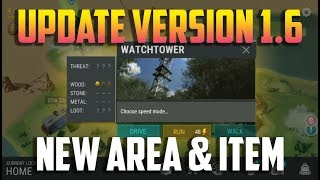 UPDATE VERSION 1.6  WATCH TOWER, NEW ITEMS, NEW AREAS