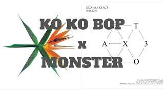 [Short Mashup] EXO's Ko Ko Bop + Monster's Instrumental