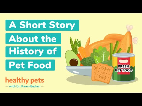 A Short Story About the History of Pet Food