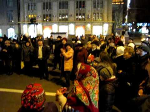 Ukrainian folk music with dancing baby