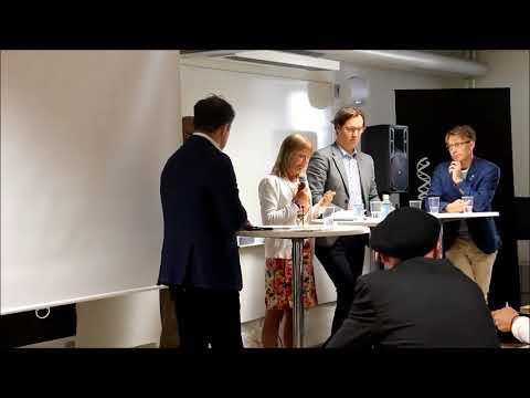 Paneldiskussion Almedalen 2017 del 1