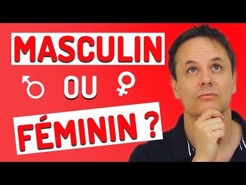 Masculin ou Féminin en Français? 5 Astuces Très Utiles pour le savoir!!