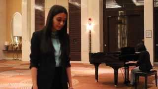 Evanescence - My immortal (Live cover by Ayan Aliyeva and Khana Ruvinova)