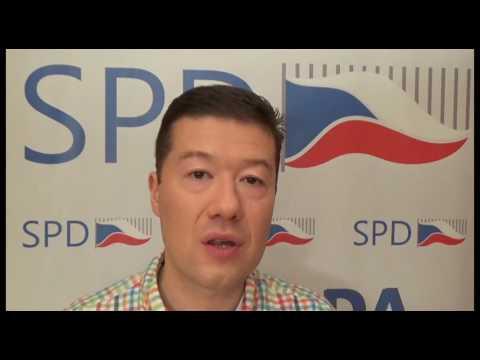 Tomio Okamura: Cestou k prosperitě je přímá demokracie