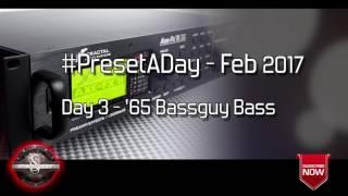 #PresetADay - 65 Bassguy Bass Day 3 (Feb 2017)