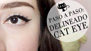 Paso a paso: DELINEADO CAT EYE | Annie Cusp