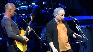 Paul Simon and Sting sing =] Fragile [= Feb 8 2014 - Houston, Tx