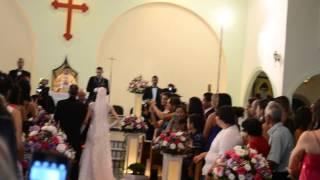 Marcha nupcial+Que bom que você chegou  Entrada da noiva Sheila (Viva Voz Produções)