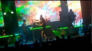 se desintegra el amor Paty Cantú con Benny Ibarra en el Metropolitan el 2 de Julio del 2011