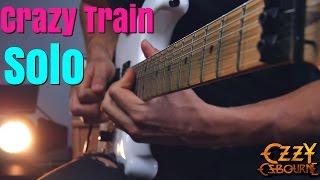 Ozzy Osbourne Crazy Train Solo - Cover - 4k