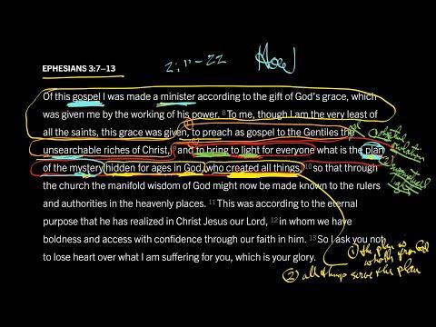 Ephesians 3:7–13 // Part 4 // A Plan No Mere Man Can Accomplish
