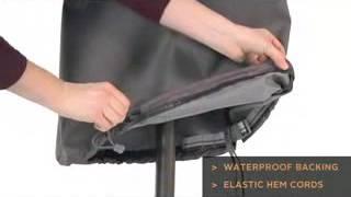 Classic Accessories Ravenna Taupe Outdoor Patio Furniture Cover  Patio Umbrella Cover