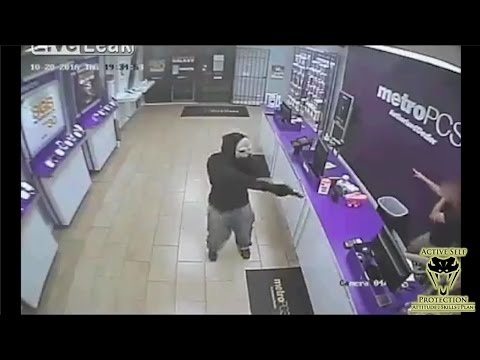 Masked Armed Robber Terrorizes Clerks | Active Self Protection