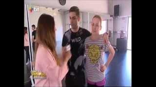 Leandro no + TVI, Bastidores Dança Com As Estrelas - 05.04.15
