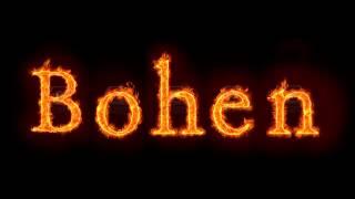 Bohen - Nie patrz na ludzi