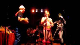 Skeletor Karaoke Gong Show at Trocadero with He-Man