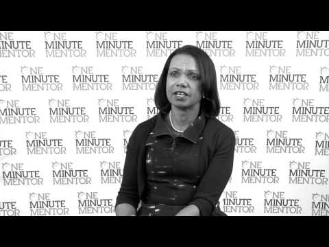 Hearst One Minute Mentor: Condoleezza Rice on Truth