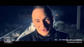 Freestyle De Rue - JUL - Je Trouve Pas le Sommeil (Making Of Clip)