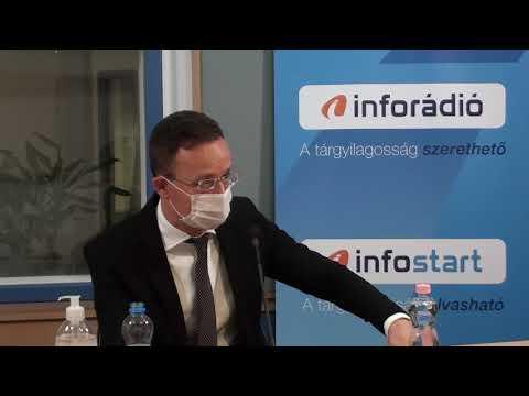 InfoRádió - Aréna - Szijjártó Péter - 2020.11.24.