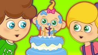 Doğum günü şarkısı İyiki Doğdun La la la - Sevimli Dostlar  Çocuk Şarkıları 2016