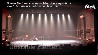 """""""Unstable Element"""" von Deja Donne (Perugia) & Merlino Quartett (Potsdam/Berlin)"""